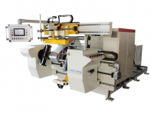 Double servo foil winding machine 600-2-2